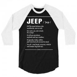 Jeep Noun 3/4 Sleeve Shirt   Artistshot