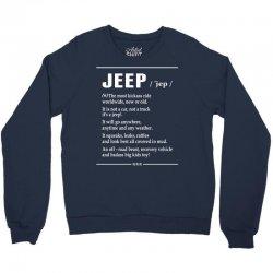 Jeep Noun Crewneck Sweatshirt   Artistshot