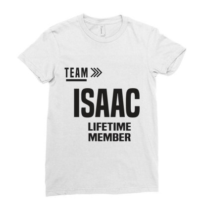 Isaac Ladies Fitted T-shirt Designed By Chris Ceconello