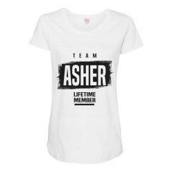 Asher Maternity Scoop Neck T-shirt | Artistshot