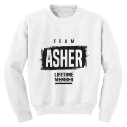 Asher Youth Sweatshirt | Artistshot