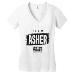 Asher Women's V-Neck T-Shirt | Artistshot