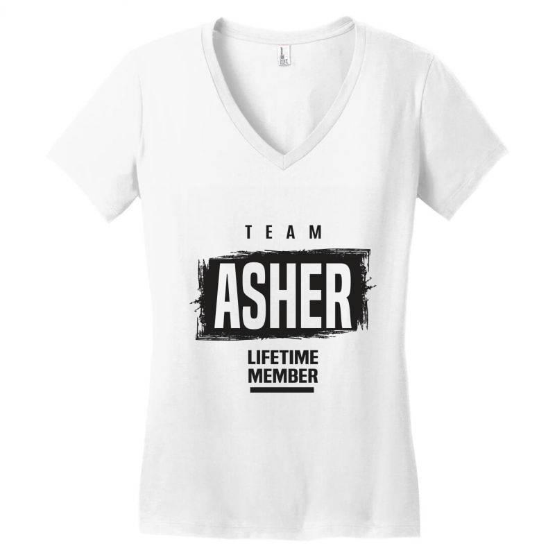Asher Women's V-neck T-shirt   Artistshot