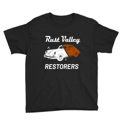 Rust Valley Restorers Essential T Shirt Youth Tee Designed By Bluebubble