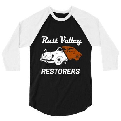 Rust Valley Restorers Essential T Shirt 3/4 Sleeve Shirt Designed By Bluebubble