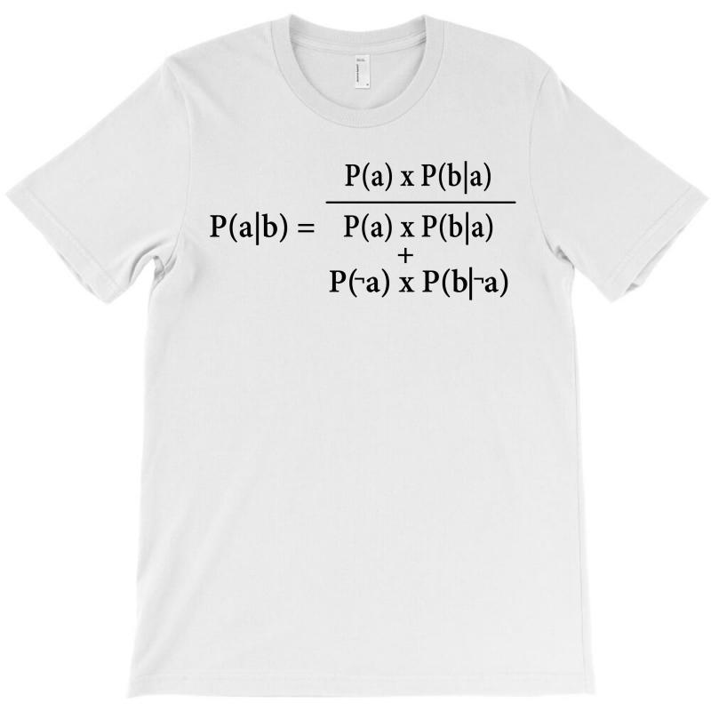 Ash Bayes Theorem T-shirt | Artistshot