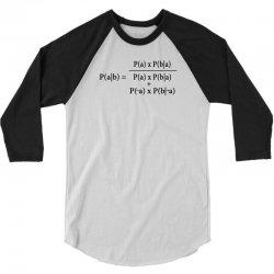 Ash Bayes Theorem 3/4 Sleeve Shirt | Artistshot