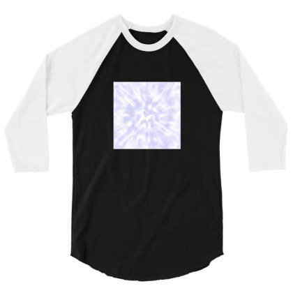Lilac Tie Dye 3/4 Sleeve Shirt Designed By Ariee