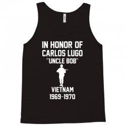 In Honor Of Carlos Lugo Vietnam Tank Top   Artistshot