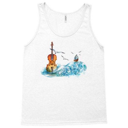 Instrument Violin Tank Top Designed By Şen