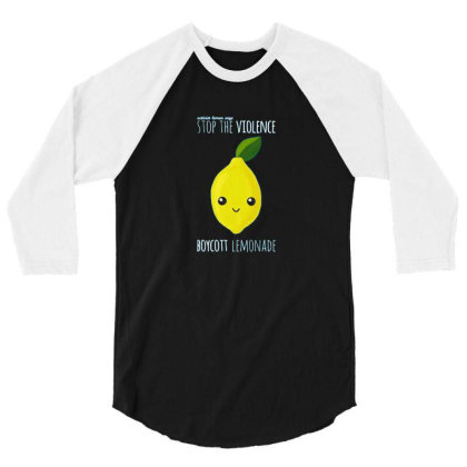 Activist Lemon 3/4 Sleeve Shirt Designed By Laerns