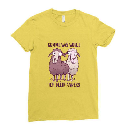 Black Sheeps Funny Geek Gift Ladies Fitted T-shirt Designed By Blackstone