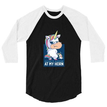 Funny Unicorn Gift Unicorns 3/4 Sleeve Shirt Designed By Blackstone