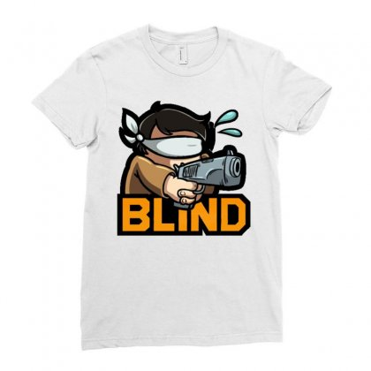 Actiblind Ladies Fitted T-shirt Designed By Mdk Art
