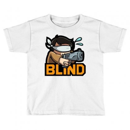 Actiblind Toddler T-shirt Designed By Mdk Art