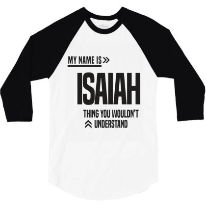 Isaiah 3/4 Sleeve Shirt Designed By Chris Ceconello