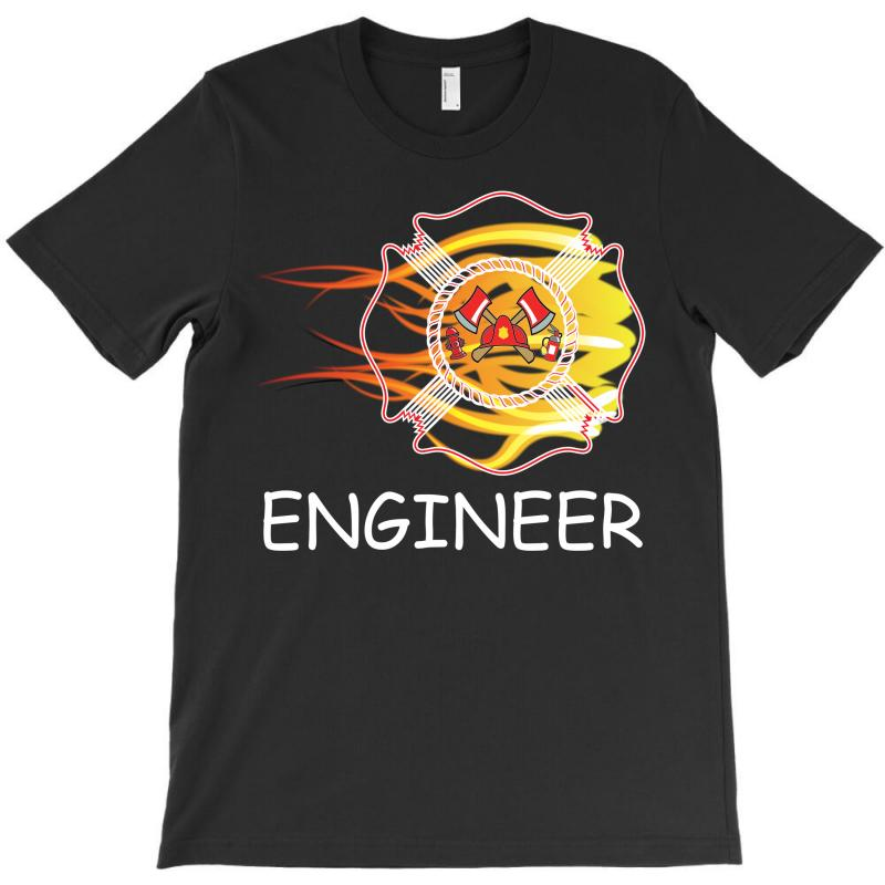 Fire Department Engineer T-shirt   Artistshot