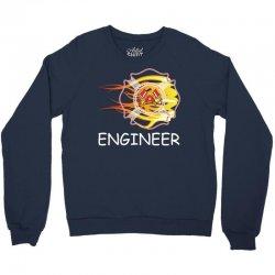 FIRE DEPARTMENT ENGINEER Crewneck Sweatshirt   Artistshot
