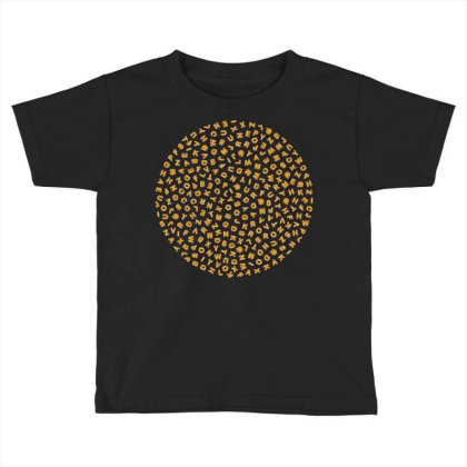 Gingerbread Circle Toddler T-shirt Designed By Chiks