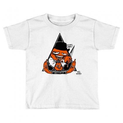 Annoying Clockwork Orange Toddler T-shirt Designed By Mdk Art