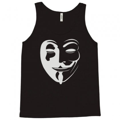 Anonymous Tank Top Designed By Mdk Art