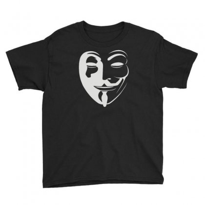 Anonymous Youth Tee Designed By Mdk Art