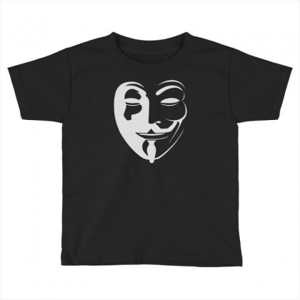 Anonymous Toddler T-shirt Designed By Mdk Art