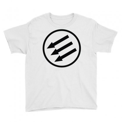 Antifa Arrows Youth Tee Designed By Mdk Art