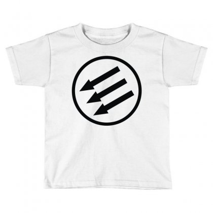 Antifa Arrows Toddler T-shirt Designed By Mdk Art