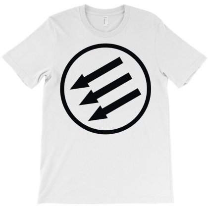 Antifa Arrows T-shirt Designed By Mdk Art
