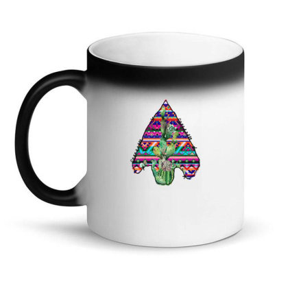 Arrow Head Cactus Magic Mug Designed By Badaudesign