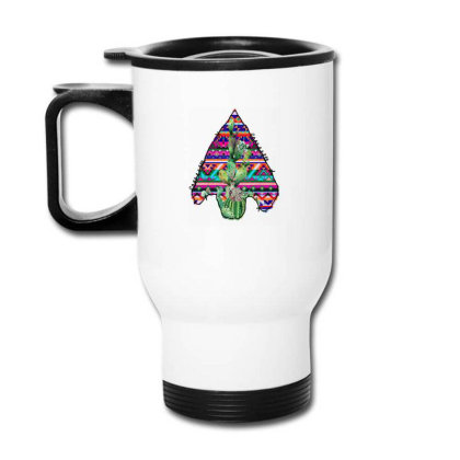 Arrow Head Cactus Travel Mug Designed By Badaudesign