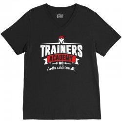 trainers academy V-Neck Tee   Artistshot