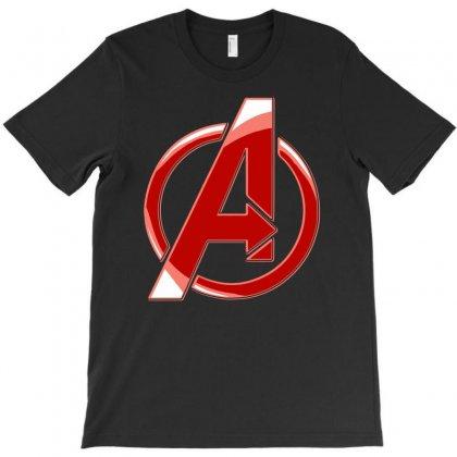 Avenger Logo T-shirt Designed By Mdk Art