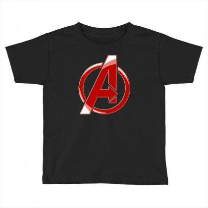 Avenger Logo Toddler T-shirt Designed By Mdk Art