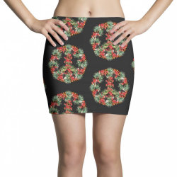 christmas peace Mini Skirts | Artistshot