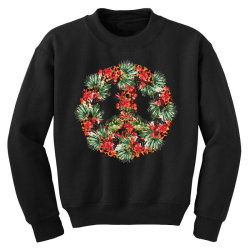 christmas peace Youth Sweatshirt | Artistshot