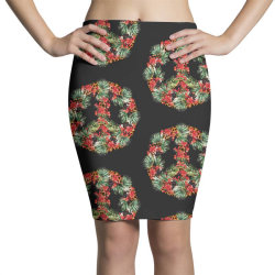 christmas peace Pencil Skirts | Artistshot