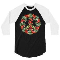 christmas peace 3/4 Sleeve Shirt | Artistshot