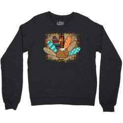 Turkey Thanksgiving Crewneck Sweatshirt Designed By Badaudesign