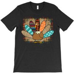 Turkey Thanksgiving T-shirt Designed By Badaudesign
