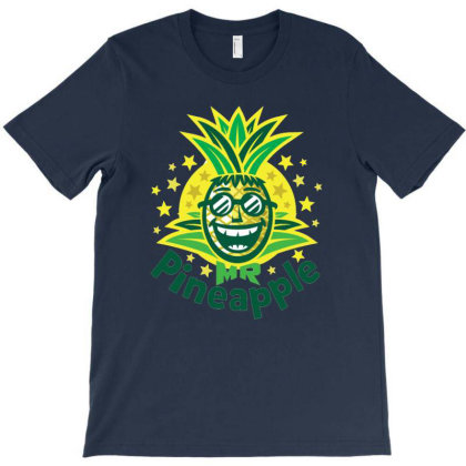 Mr Pineapple T-shirt Designed By Willo