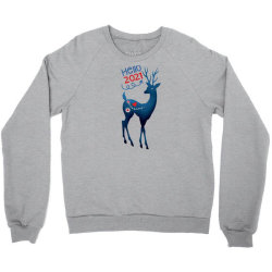 Christmas Day - Hello 2021 Crewneck Sweatshirt Designed By Lonnieyrussell