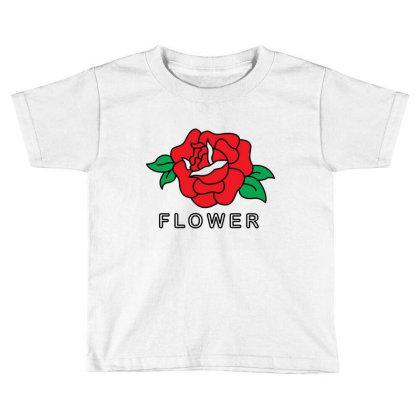 Flower Toddler T-shirt Designed By Fahmifutri