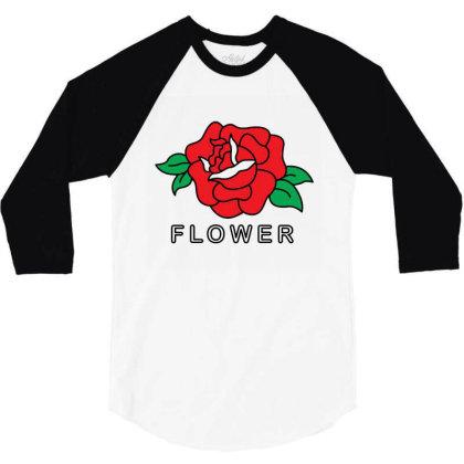 Flower 3/4 Sleeve Shirt Designed By Fahmifutri
