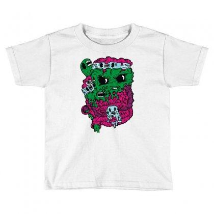 Band Tee Toddler T-shirt Designed By Mdk Art