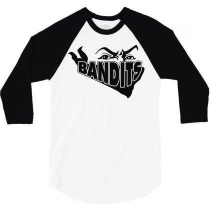 Bandit 3/4 Sleeve Shirt Designed By Mdk Art