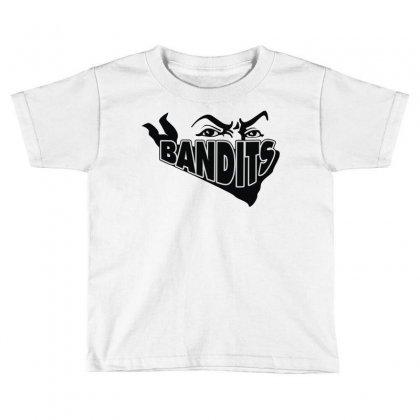 Bandit Toddler T-shirt Designed By Mdk Art
