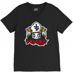 baptism records V-Neck Tee | Artistshot