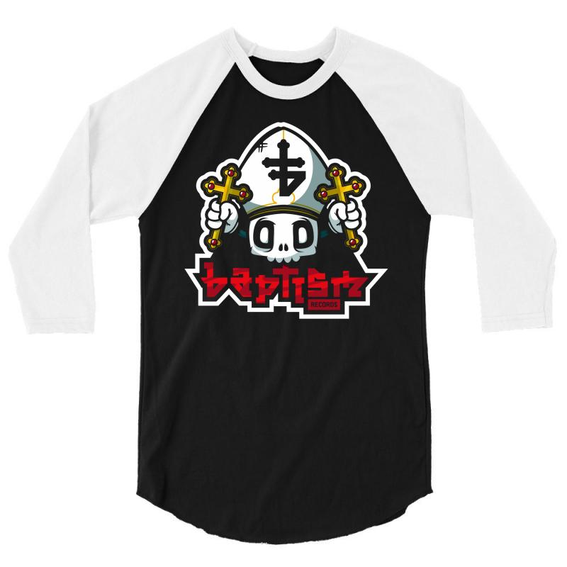 Baptism Records 3/4 Sleeve Shirt | Artistshot